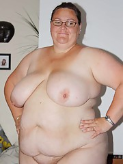 Huge BBW sluts show off their pussies and tits