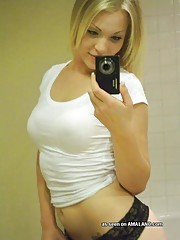 Picture selection of lovely amateur girls selfshooting