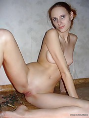 Picture collection of a horny GF sucking on a dildo and a dick