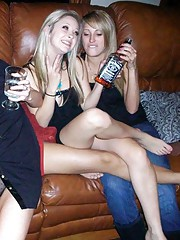 Nice sizzling compilation of sleazy horny amateur lesbos