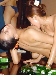 Nice collection of wild naughty amateur kinky lesbos
