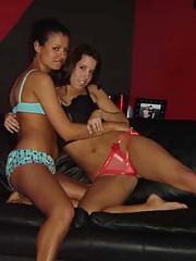 Collection of lesbians getting horny and kinky
