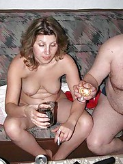Compilation of naughty wild amateur lesbians in a party