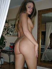 Picture collection of an amateur wife in her sexy lingerie