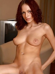 Pictures of an amateur sleazy wife posing in the nude