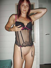 Picture collection of a wild amateur naughty housewife