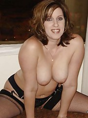 Pictures of two raunchy amateur naughty MILFs