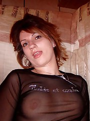 Picture gallery of a lovely wife in her sexy clothes