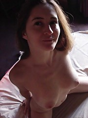 Picture collection of a naked skanky amateur housewife