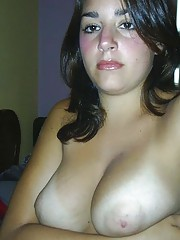 Photo gallery of two amateur sexy heavy-chested girlfriends