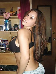 Photo gallery of a hot heavy-chested amateur GF