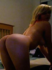 Photo collection of an amateur naughty wild chick pussy-playing
