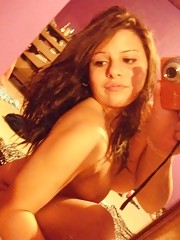 Picture collection of an amateur kinky horny GF pussy-playing