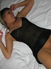 Picture collection of an amateur wild fuck who got jizzed on