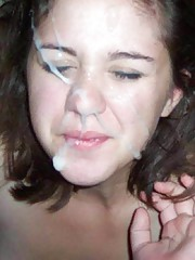 Picture collection of cum-drenched amateur babes