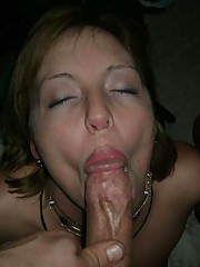 Photo gallery of an amateur wild bitch who got jizzed on