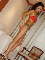 Picture collection of a sexy Singaporean babe posing for her BF