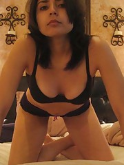 Picture gallery of sleazy amateur sexy Mexican hotties