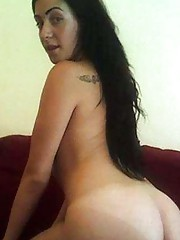 Photo collection of an amateur naked Latina bombshell