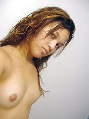 Photo collection of an amateur sexy Mexican babe camwhoring