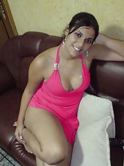 Photo gallery of a steamy hot Spanish chick