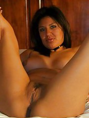 Picture compilation of an amateur Latina hottie posing naked
