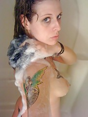 Picture compilation of amateur tattooed emo girlfriends