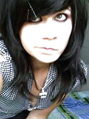 Picture collection of a mix of amateur emo hotties