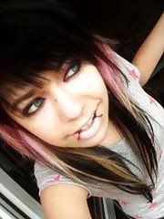 Photo collection of hot and lovely emo babes