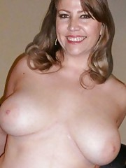 Photo selection of a naughty sleazy amateur BBW