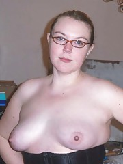 Picture selection of an amateur kinky BBW posing