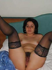 Picture collection of a chubby GF showing her fat ass