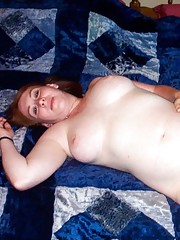 Photo collection of busty chubby amateur hotties