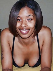 Picture collection of sleazy amateur kinky ebony bitches