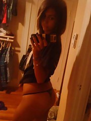 Picture collection of an amateur sexy mulatto teen