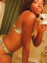 Photo collection of two amateur black hotties