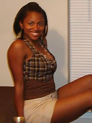 Picture set of amateur ebony bitches