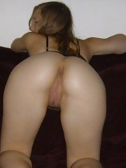 Picture collection of an amateur bitch who got her ass fucked