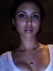 Picture collection of a busty hottie camwhoring