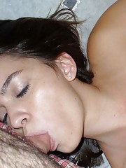 Picture selection of amateur cocksucking GFs getting fucked