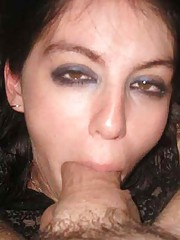 Picture collection of amateur horny babes sucking dicks