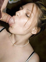 Photo gallery of an amateur cocksucking horny girlfriend