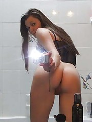 Picture collection of an amateur French teen
