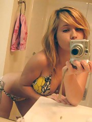 Picture set of amateur teens camwhoring