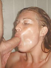 Picture collection of a group of naughty cocksucking GFs