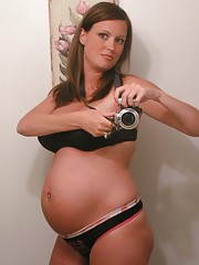 Homemade nice pregnant girlfriends pics