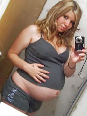 Collection of naughty and hot pregnant girlfriends