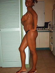 Picture gallery of two naughty amateur black GFs