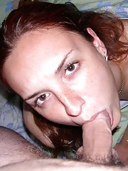 Photo collection of cocksucking horny girlfriends