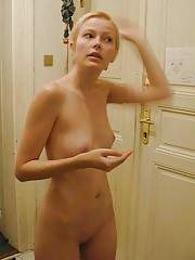 Picture set of three amateur topless hotties
